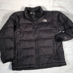 The North Face Puffer jacket. 14/16.  Black